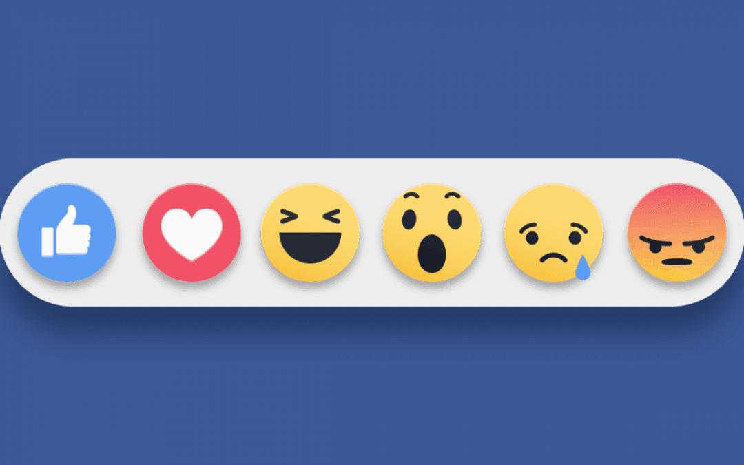 Contenido para Redes Sociales Reacciones Facebook